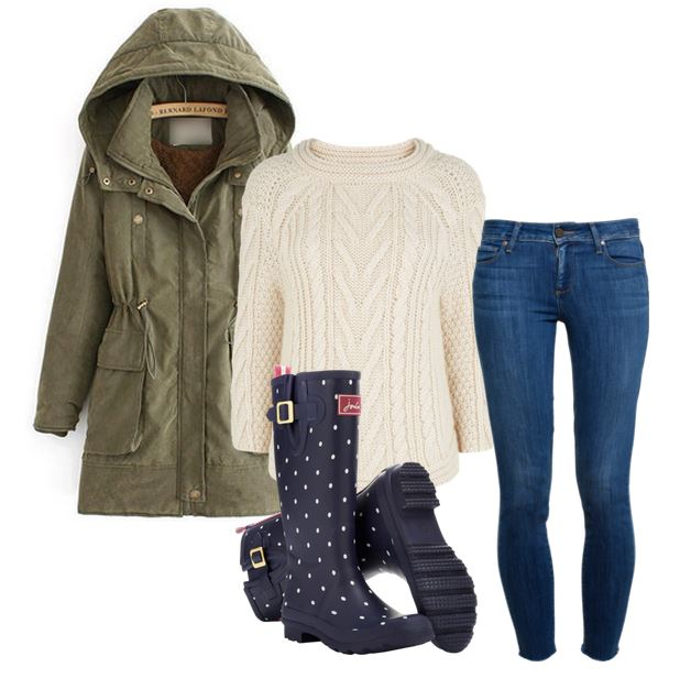 what to wear with a parka - 1