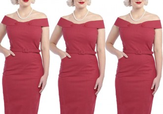 Collectif Eloise pencil dress