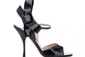 Shoe(s) of the Day | Miu Miu patent double-strap patent Mary Janes