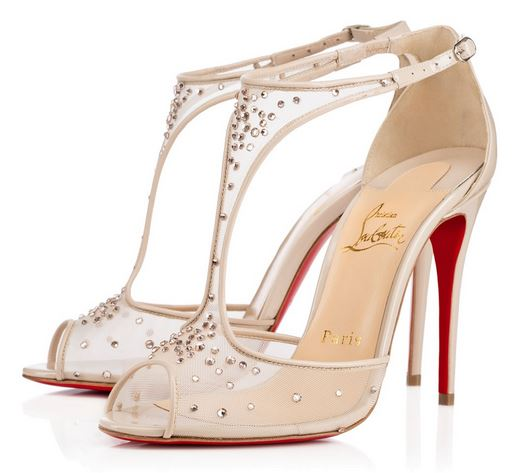 Christian Louboutin 'Patinana' patent t-bar sandals