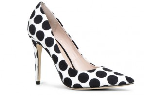 ALDO 'Choewia' polka dot high heel pumps