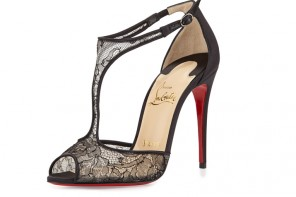 Friday Fix | Christian Louboutin 'Tiny Lace' t-bar sandals