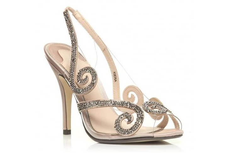 Moda in Pelle 'Keira' barely there sandals