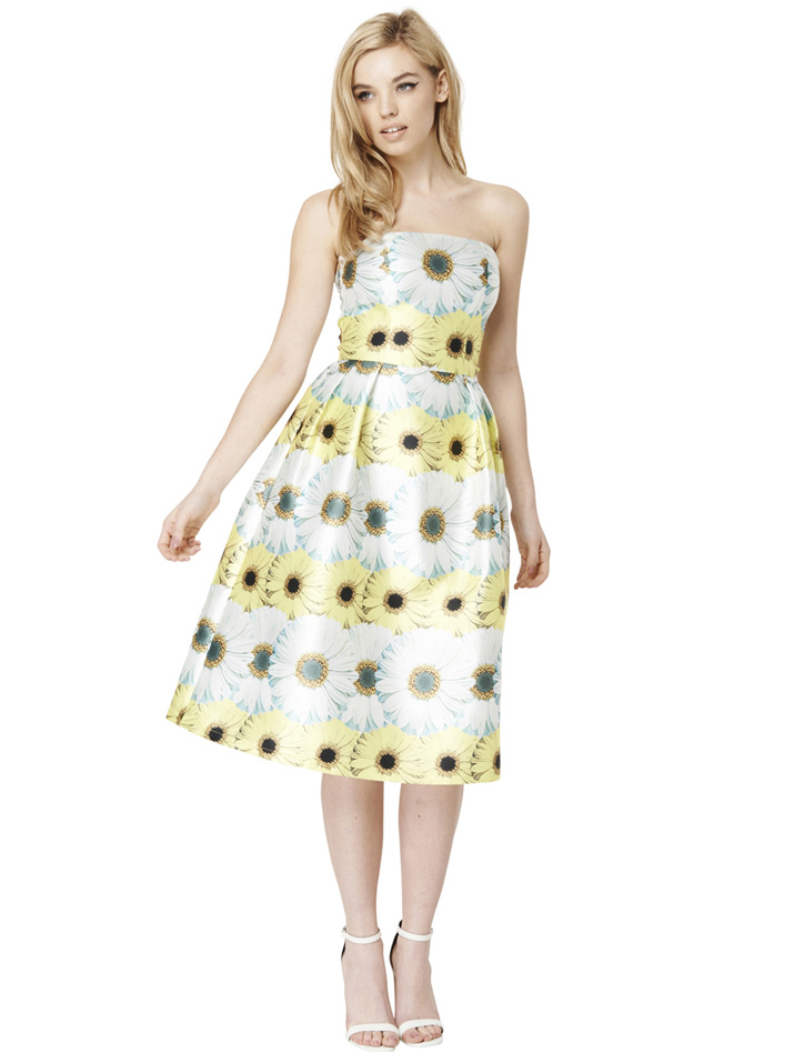 Chi Chi London 'Esme' daisy print dress