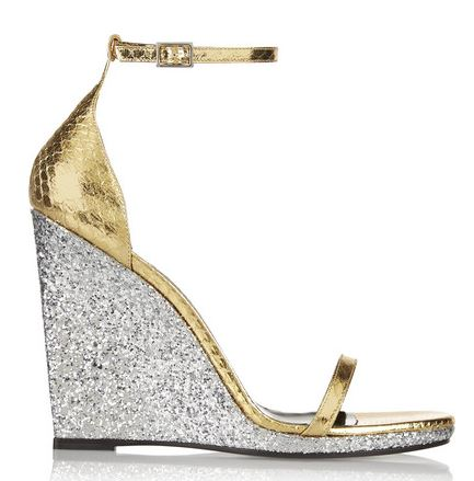 Saint Laurent 'Jane' wedge sandals