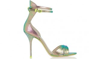 Shoe of the Day | J.CREW + Sophia Webster Nicole textured-leather sandals