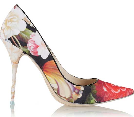 sophia webster x J Crew 'Lola' floral pumps