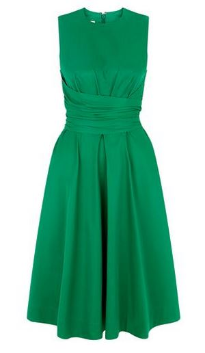 Hobbs Twitchill dress in green