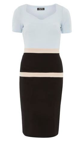 fever fish pencil dress