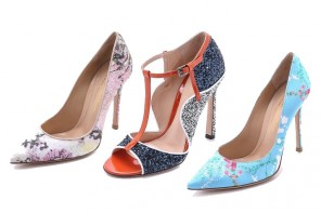 Mary Katrantzou x Gianvito Rossi shoe collection