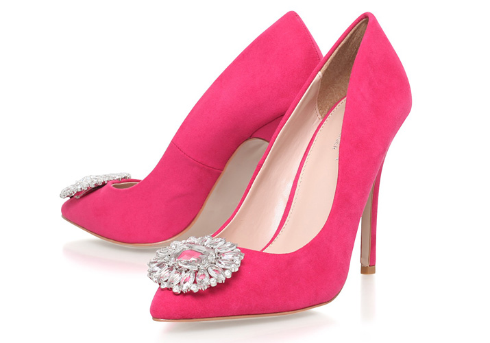 Carvela Kurt Geiger 'Livia' hot pink pumps