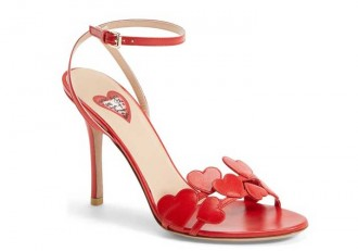 valentino 'L'Amour' Heart Sandals