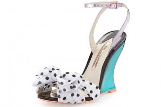 Sophia Webster Melissa Polka-Dot Wedge Sandal