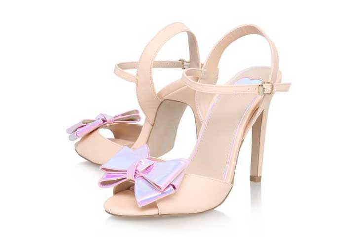 Kurt Geiger Miss KG 'Fancy' bow sandals
