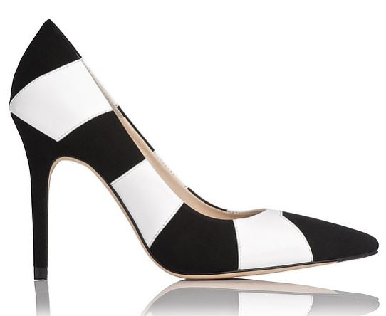 LK Bennett Fernie stripe pumps