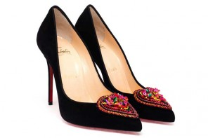 Christian Louboutin Perucora Suede Pumps