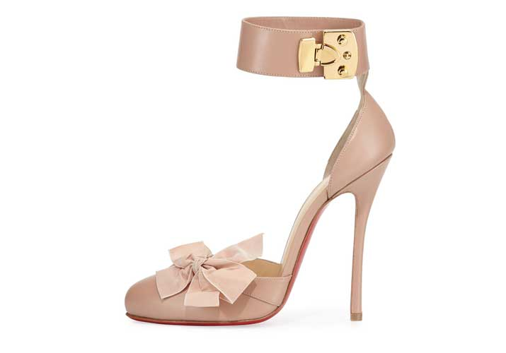 Christian Louboutin 'Fetish' ankle strap pumps