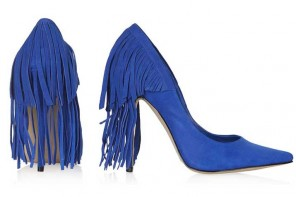 fringed shoes from Topshop