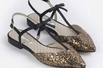 Boden 'Isabel' bow point flats
