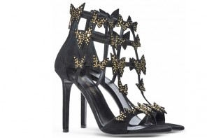 Tamara Mellon bow sandals