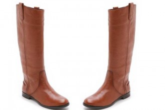Madewell 'The Archive' tan leather boots