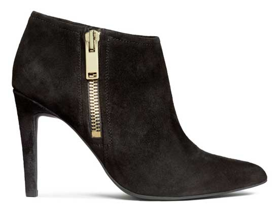 suede H&M shoe boots