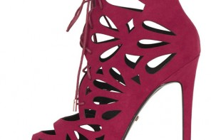 Topshop 'Ravish' laser cut sandals