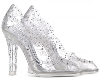 Dolce & Gabanna plexiglass court shoes