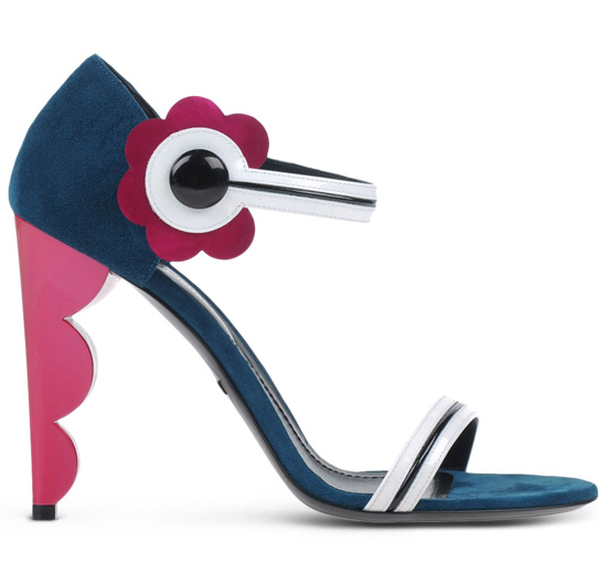Nicholas Kirkwood sculpted heel sandals