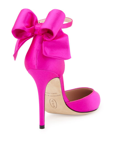 SJP by Sarah Jessica Parker 'Trance' satin bow pumps