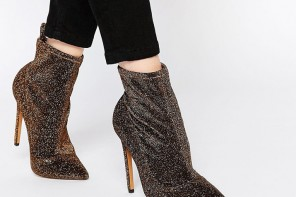 ASOS 'Envision' Pointed Sock Boots