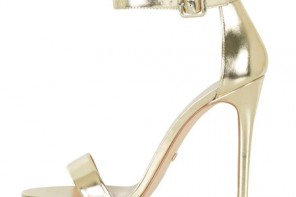 Topshop 'Rita' two-part skinny sandals