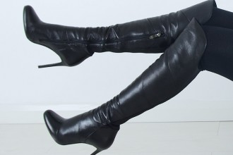 Moda in Pelle 'Vancouver' over-the-knee boots