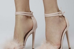 Topshop Reese feather sandals
