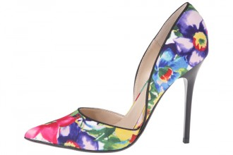 Steve Madden Varcityy pointed floral pumps