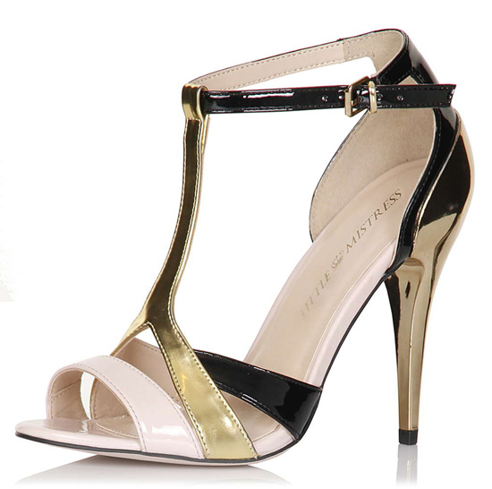 Little Mistress Multi Strap Stilettos