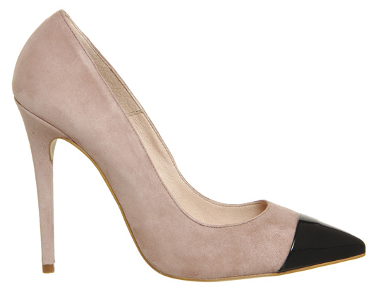 Office Arch Toe Cap Point Heels