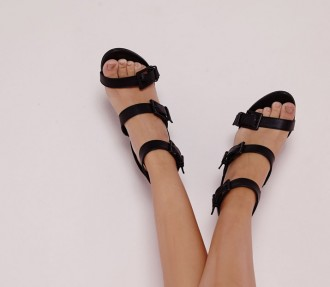 Missguided Buckle Biker Sandals