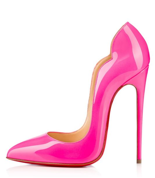 Christian Louboutin Hot Chick pink patent