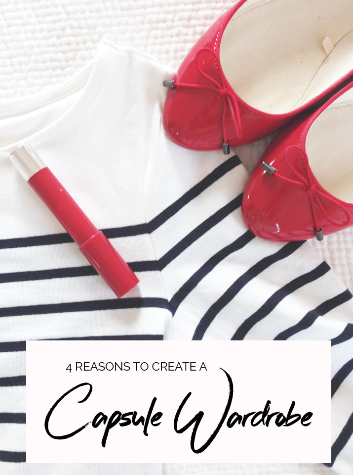 4 reasons to create a capsule wardrobe