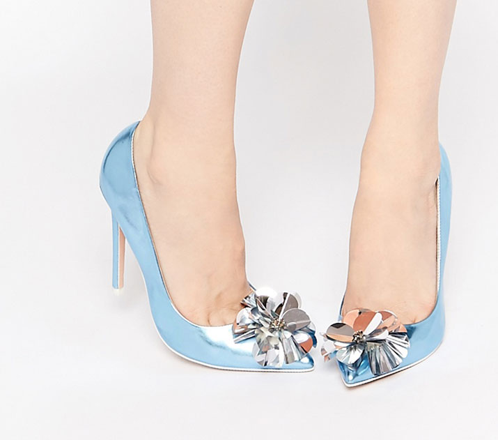 ASOS PLAYER Pointed High Heels