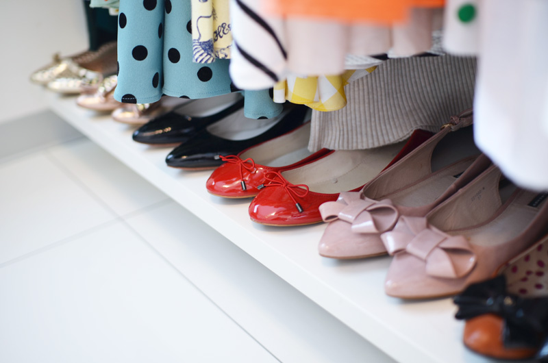 Ask ShoeperWoman: Shoe storage for flat shoes