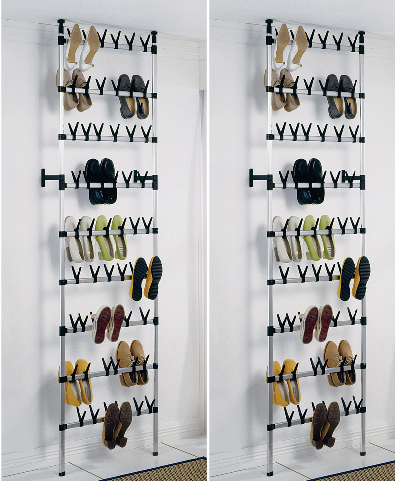 shoe storage for flat shoes