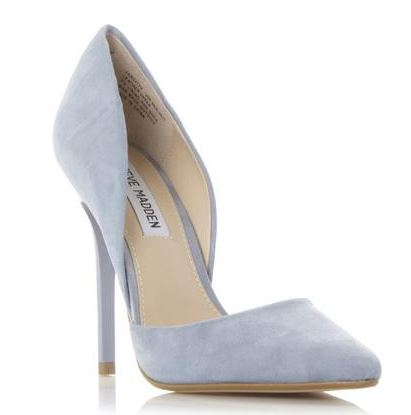 Steve MAdden 'Varcity' blue suede shoes