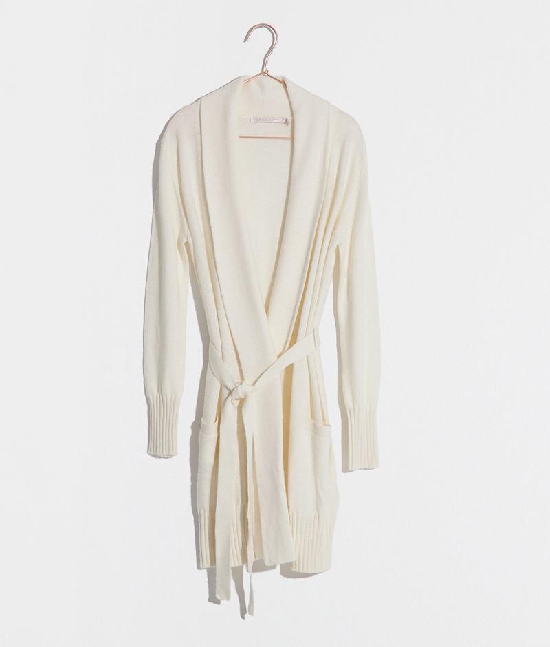 knitted dressing gown