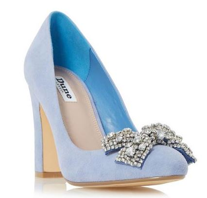 Don't step on my baby blue suede shoes…