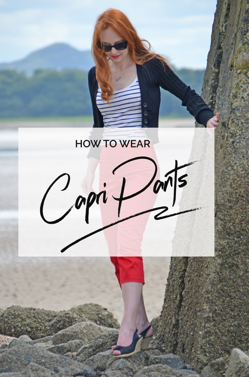 how to wear capri pants - and other questions