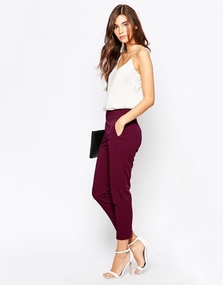 cami top and trousers