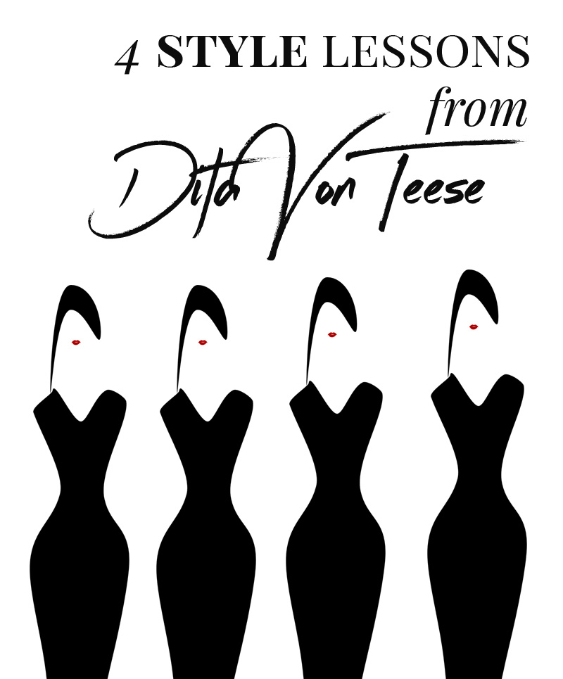 Dita Von Teese style: 4 style lessons we can all learn from Dita Von Teese