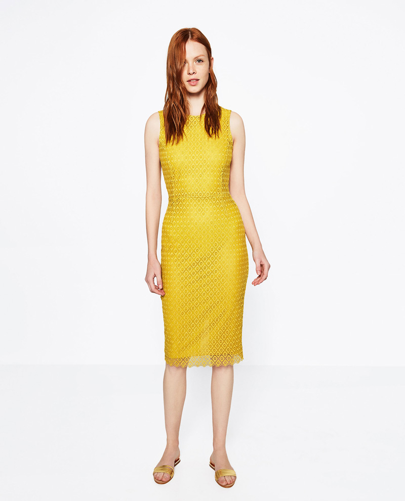 yellow dresses roundup